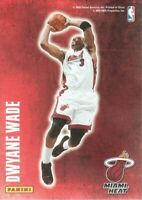 2009-10 Panini Basketball Decals #15 Dwyane Wade Miami Heat