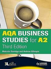 AQA Business Studies for A2: WITH Dynamic Learning Student Edition (Aqa for A2),