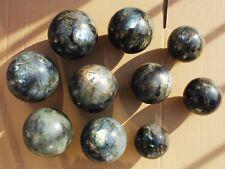 9.4kg (20.68lb) 10 Pcs NATURAL Labradorite Great Shine / Fire Sphere Ball