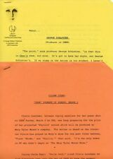 CHER TV VARIETY SHOW GEORGE SCHLATTER RARE ORIGINAL 1975 CBS TV PRESS MATERIAL