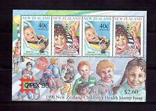 NEW ZEALAND 1996 Health min sheet O/P Capex 96 MUH