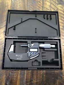 "Mitutoyo 1-2"" Digital Micrometer IP65 293-331-30"