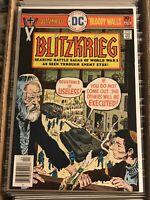 BLITZKERG #2 JOE KUBERT WORLD WAR II 1976 DC COMICS sam glanzman weird tales