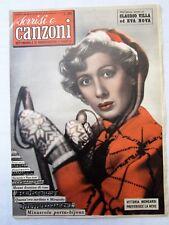 SORRISI E CANZONI-ANNO III-N.48-28 NOVEMBRE 1954-VITTORIA MONGARDI