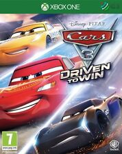 Cars 3 Driven To Win Xbox One * NEW SEALED PAL *