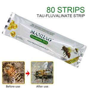 80pcs Beekeeping Tau Mite Killer Tool Set PestControl Varroa.Strip Z