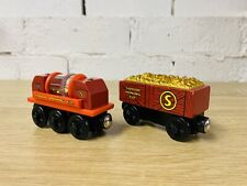 Gold Car Gold Sifting Car Thomas The Tank Engine & Friends Wooden Railway Trains