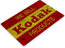 TIN SIGN Kodak Camera Film Photos Photography Retro Metal Decor B726