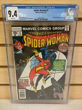 Spider-Woman #1 1978 MARVEL New Origin of Spider-Woman CGC 9.4