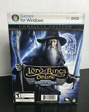 The Lord of the Rings Online Mines of Moria Complete PC DVD Rom Video Game USA