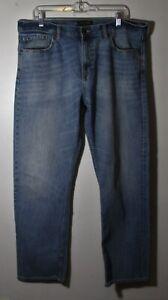 "Men's BANANA REPUBLIC Blue ""Slim Fit"" Denim Jeans Size 38X32"