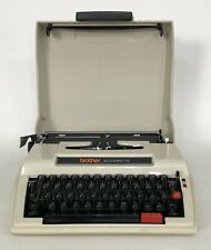 Vintage Brother Accord 10 Typewriter Portable Manual w/ Case Made In Japan