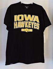 Iowa Hawkeyes Men's Short Sleeve T-shirt-Black Size Large NWT