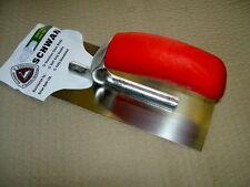 "SCHWAN Stainless Steel 8"" Midget Mini Plastering Trowel made in germany new"