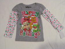 NEW GIRLS THE MUPPETS CHRISTMAS HAPPY HOLIDAYS 18M 18 MONTHS LONG SLEEVE SHIRT