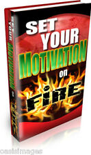 LEARN HOW TO MOTIVATE YOURSELF  Audio book on CD rom read, listen print