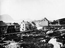 Photo.  1860s. Norway.  Møre og Romsdal, Ålesund