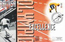 (42647) GB MERCURIO FDC OLIMPIADI-Alexander STADIUM perrybar 9 luglio 1996