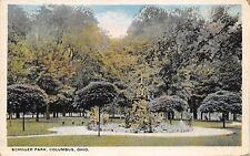Columbus Ohio c1920 Postcard Schiller Park