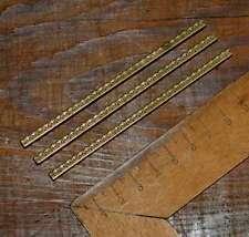 Gelernt 9 X Prägelinien Messing Rahmen Buchbinder Prägen Messinglinien Ornamente Art Alte Berufe