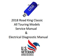 Service Manual For 2018 Harley Davidson Road King Classic &Electrical Diagnostic