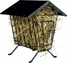 Free Standing Covered Hay Manger Food Grass RackHolder Guinea Pigs Small Animal