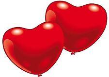 Herzluftballons klein Hochzeit Liebeserklärungen Geburtstage Hochzeitstage