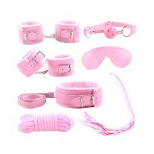 Cozy Feel 7PC Bondage Kit Under Bed Restraint Set BDSM Love Cuffs Multicolor