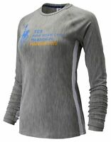 New Balance Women's 2019 NYC Marathon Transform Long Sleeve Grey