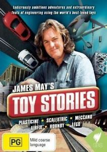 JAMES MAY'S TOY STORIES DVD. 2 DISCS. ALL REGIONS