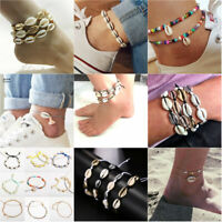 Girl Summer Beach Sea Shell Cowrie Bracelet Foot Ankle Bracelets Jewelry New