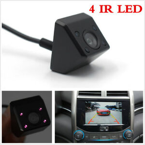 Waterproof 170° Car Rear View IR Camera Back Up Parking Night Vision Guide Lines