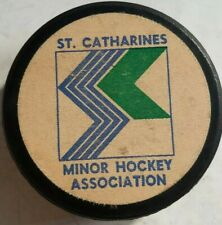 St. Catherines Minor Hockey Association Puck Made In Canada Viceroy Sticker Logo