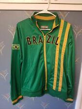 Urban Pipeline Up Brazil Full Zip Mock Neck Casual Athletic Track Jacket XL