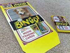 Bingo Trading Card Wax Pack + Counter Display Box