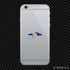 Oregon Fly Fishing Cell Phone Sticker Mobile OR fish lure tackle flies