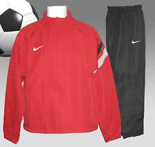 New NIKE Men's Tiempo FOOTBALL Tracksuit Red and Black Medium