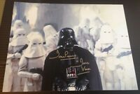 Dave Prowse Autograph Darth Vader Star Wars Signed 11x14 Photo AFTAL [7692]