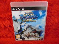 ps3 SENGOKU BASARA Samurai Heroes Capcom Fighting Game PAL UK REGION FREE