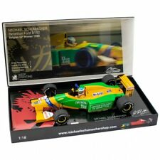 *READ Michael Schumacher Minichamps Camel Benetton Ford B192 Belgium Winner 1:18