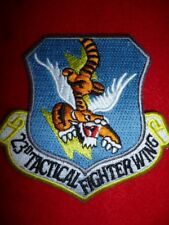 USAF Patch - 23rd Tactical Fighter Wing Patch, Flying Tigers