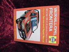 VAUXHALL FRONTERA Auto Officina Manuale