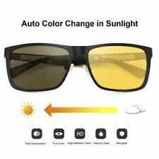Photochromic Night Vision Glasses Polarized Driver Yellow Sunglasses Unisex 2021