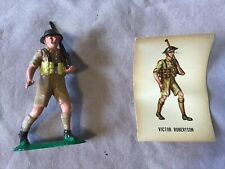 Victor Robertson WWII British Soldier Marx Toys Series III Warriors the World