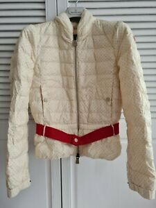 Pre-Owned Moncler womens Belted Down Jacket US0