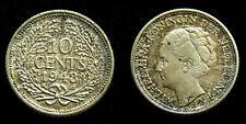 Netherlands - 10 Cent 1943 PP patina