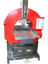 Horizontalstretchmaschine, Horizontalwickler, Tunnelwickler (Teppiche/ Rohre)