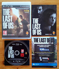 The Last of Us PS3 / complet / FR intégral / blu-ray zero rayure / envoi gratuit