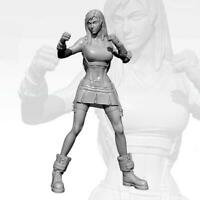 1/24 75MM YUFAN Girl Fighting King Resin Soldier Model