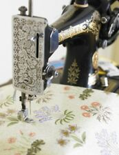 William Morris Lily Floral  Pvc / Oilcloth Fabric By The Half Metre